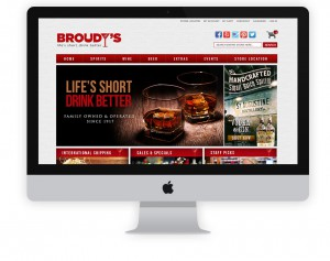 Broudys Fine Wine eCommerce