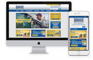 Coastal Construction eCommerce website