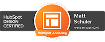 Hubspot Design COS Certification