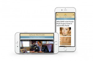 Ponte Vedra Plastic Surgery Mobile Website