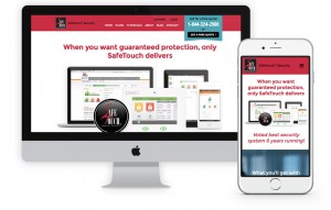 Safe touch Security Web Design