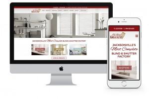 All About Blinds Website Design