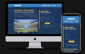 Chargers Hubspot Landing Page